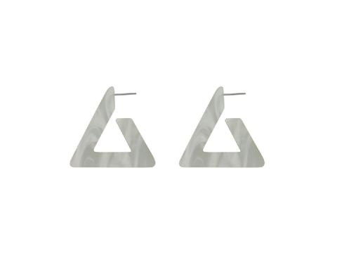 PETRA MATTE RESIN TRIANGLE WHITE